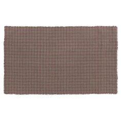 VHC Brands Everson Burlap Plaid Tablecloth - 15472