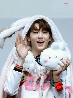 He is really a bunny Soobin Fandom, My Little Baby, The Dream, Picture Collection, Handsome Boys, K Idols, Pop Group, Pretty Boys, Mini