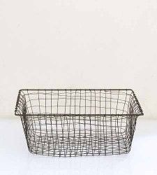 wire baskets for toilet paper rolls