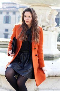 beautiful leather lady