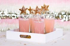 How To: Make Sparkle #Star Drink Stirrers