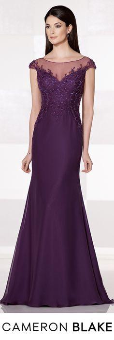 Cameron Blake Fall 2015 - Style No. 215642 cameronblake.com #eveninggowns #motherofthebridedresses