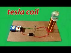 "Make a mini ""Tesla coil"" (Easy to make) - YouTube"