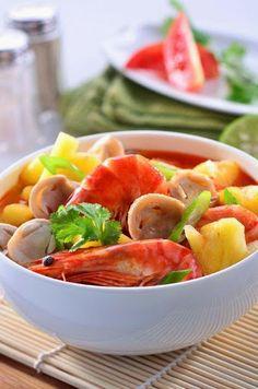klik resep 'Sup Udang Jamur Segar' di sini: http://resepkita.com/detailResep.asp?recId=502
