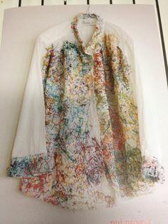 souco8 souco  今日はギャラリーで「しょうぶ学園」のシャツ展レセプションでした。巧まざるこの配色、従来の障害者施設の作品とかけ離れているどころか、「アート」としてギャラリーや美術館で引っ張りだこ。