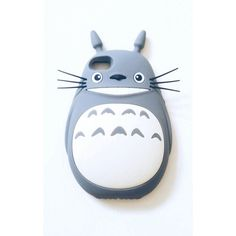 Totoro Phone Case (€22) ❤ liked on Polyvore featuring accessories and tech accessories