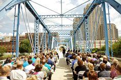 Grand Rapids Wedding On Blue Bridge 2017 Fall Bells