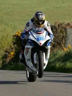 Guy Martin at the Cookstown 100, the opening race of the Irish Road race season. While some international races are growing year by year many rounds of