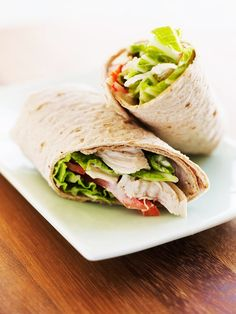 Asian Chicken Wraps by Ellie Krieger Healthy Food List, Healthy Snacks, Healthy Eating, Healthy Recipes, Clean Eating, Quick Snacks, Healthy Life, Quiches, Asian Chicken Wraps