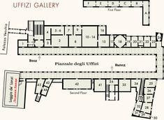 uffizi gallery plan - Google Search