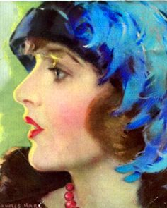 1924, Corinne Griffith by HalPhyfeFeb