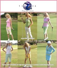 women golf outfits | ... Spring/Summer 2008 Collections! | Titania Golf Womens Golf Apparel
