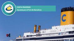 Asi es la apuesta de Costa Cruceros por el Port de Barcelona