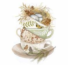 Nesting Teacups-Mary Lake Thompson