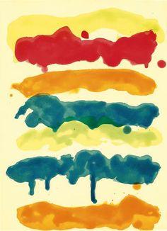 Mary Heilmann - Color aquatint with spit bite and sugar lift aquatints