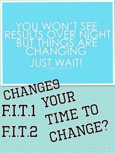 Forever F.I.T. är ett smart program komplett med träning, kosttillskott och kostråd som i tre enkla steg hjälper dig att må bättre, och att se bättre ut. CHANGE 9 ger din kropp en omstart på nio dagar, F.I.T. 1 kommer att ändra hur du ser på kost och träning och hjälpa dig att sätta hållbara mål för viktkontroll. I F.I.T. 2 handlar det om att forma, förändra och förvandla din kropp. Tillsammans är de en oumbärlig följeslagare på vägen mot att må bättre,se bättreut…