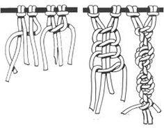 makrome düğüm teknikleri ile ilgili görsel sonucu