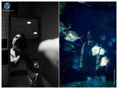 Virginia Aquarium Wedding | Getting Ready | Mirror Reflection | Twinkle and String Lights Wedding | Daissy Torres Photography