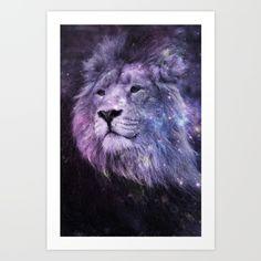 Galaxy Lion Leo by 2sweet4words Designs