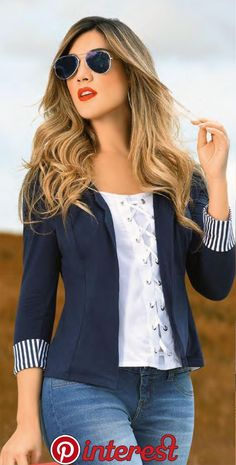 casual spring outfits looks fab! Casual Work Outfits, Blazer Outfits, Business Casual Outfits, Office Outfits, Work Casual, Classy Outfits, Trendy Outfits, Cute Outfits, Fashion Outfits