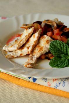 Intrusa na Cozinha: Bife de Peru Grelhado com Salteado de Legumes