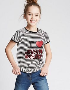 Star Wars™ Pure Cotton Top (3-14 Years) | M&S