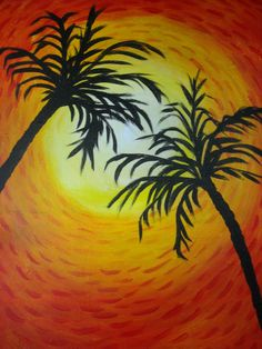 View Paint and Sip Artwork - Pinot's Palette Stencil Painting, Painting & Drawing, Watercolor Painting, Palm Tree Drawing, Wine And Canvas, Paint And Sip, Tan Paint, Diy Canvas Art, Canvas Ideas