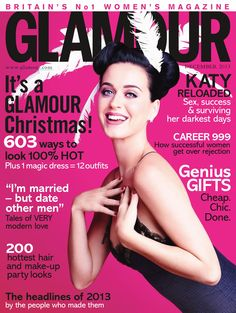 ☆ Katy Perry | Photography by Simon Emmett | For Glamour Magazine UK | December 2013 ☆ #Katy_Perry #Simon_Emmett #Glamour_Magazine #2013
