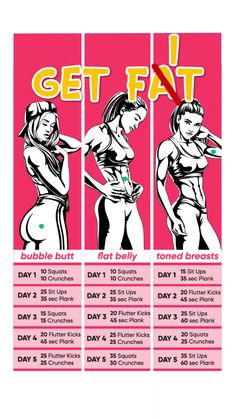 💪🥑You'll Kick Yourself if You Miss This Chance to Lose Weight Personal Body Type Plan to Make Your Body Slimmer at Home! Click and take a Quiz. Lose weight at home with effective 28 d Fitness Workouts, Gym Workout Videos, Fitness Workout For Women, Butt Workout, Fitness Tips, At Home Workouts, Health Fitness, Weight Workouts, Bike Workouts