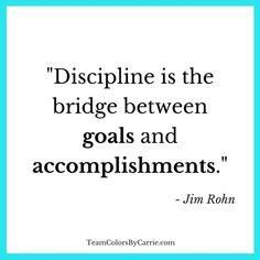 Jim Rohn on #Discipline