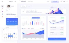 Bank dashboard for dribbble