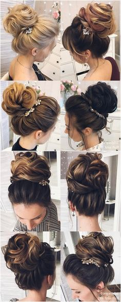 Tonya Pushkareva Long Wedding Hairstyles and Updos #weddings #weddingideas #hairstyles