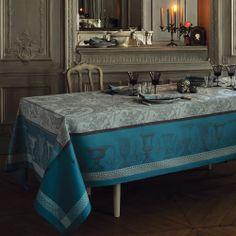 NAPPE FLANERIE GIVRE 175X255CM, Nappes : Garnier Thiebaut, linge de maison
