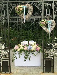 Outdoor ceremony at Millbrook Lodge