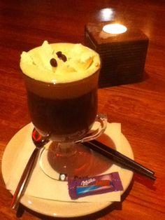 Irish Coffee at Kaffi Paris, 101 Reykjavik.