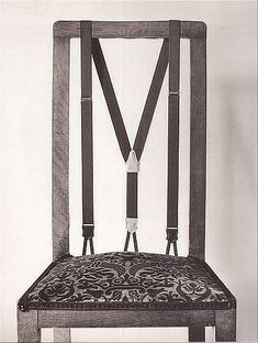 Suspender Chair - love it!
