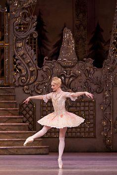 "Melissa Hamilton (Sugar Plum Fairy) with The Royal Ballet in ""The Nutcracker"" Ballet Tutu, Ballet Dancers, Ballerinas, La Bayadere, Sugar Plum Fairy, Poses References, Nutcracker Christmas, Beautiful Costumes, Royal Ballet"