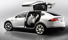 """The Tesla Model S will now be available with all-wheel drive, denoted by """"D"""" badging. What can we expect from Tesla's Model X crossover? Tesla Motors, Tesla Modelo X, Ford, Supercars, Crossover, Safest Suv, Gq, Mercedes Benz S, Sport Cars"""