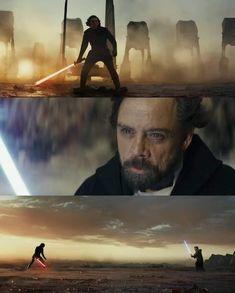 The Last Jedi (2017) ● Director - Rian Johnson ● Cinematographer - Steve Yedlin #Cinematography