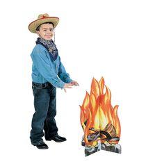 Campfire Stand-Up - OrientalTrading.com