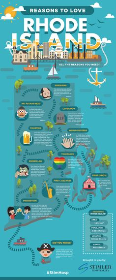 Fun Infographic for Rhode Island