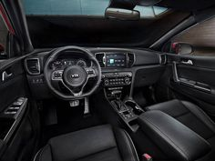 Kia reveals 2016 Kia Sportage interior http://behindthewheel.com.au/kia-reveals-2016-kia-sportage-interior/
