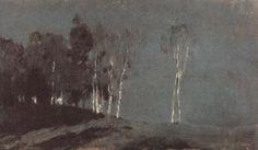 Исаак Левитан.Лунная ночь