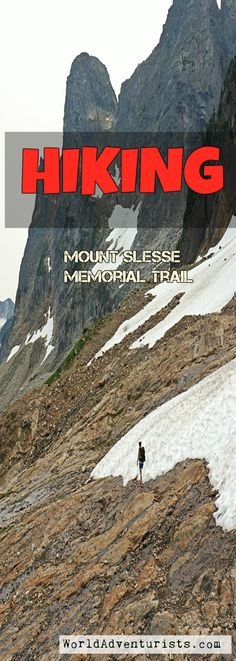 What to expect Hiking Mount Slesse Memorial Trail Cascade Mountains, Day Hike, Hiking Trails, British Columbia, Adventure Travel, Aviation, Canada, Memories, History