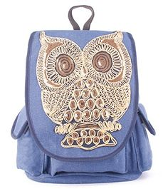 Things Kyra needs for College Angellswin Large Women Teen Girls Blue Pure Colr… Cute Backpacks For School, Cute School Bags, Cool Backpacks, Backpack Travel Bag, Leather Backpack, Fashion Backpack, Bags For Teens, Girls Bags, College Bags