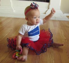 This is TOTALLY happening for next year!!!!   Baby+Cheerleader+Tutu+Custom+Set+by+TuTees+on+Etsy,+$36.00
