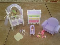 Barbie Happy Family Baby Nursery Doll Set Midge Pregnant