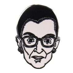 Ruth Bader Ginsburg Pin – Static Television Co.