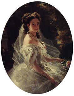 Pauline Sandor, Princess Metternich by Franz Xavier Winterhalter
