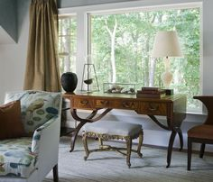 Hamptons Residence Study - a picturesque view from the window.